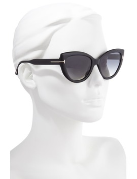 Jameson 55mm Cat Eye Polarized Sunglasses by Tom Ford