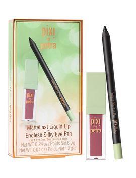 Matte Last Liquid Lip + Endless Silky Eye Pen by Pixi