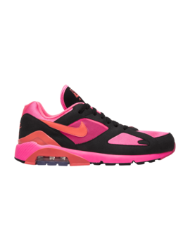 Comme Des Garçons X Air Max 180 'black Pink' by Brand Nike
