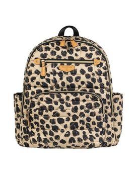 Twelv Elittle Companion Backpack Diaper Bag In Leopard by Twelv Elittle