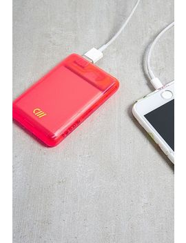 Candywirez Neon Portable Power Bank by Urban Outfitters