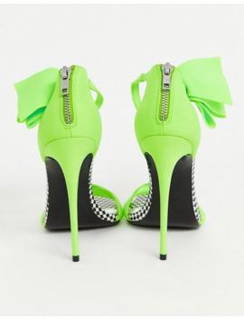 Asos Design X Christian Cowan Bow High Heels by Asos Design