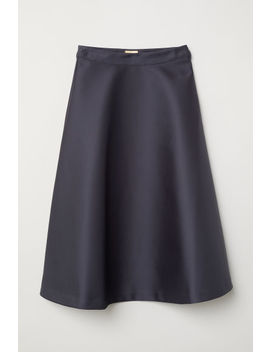 Issued Satin Skirt by H&M