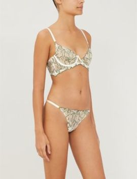 Moa Lace Bodice Bra by Bordelle