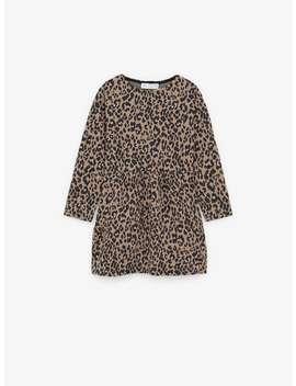 Obleka Z Leopardjim Vzorcem by Zara