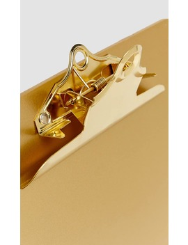 Clipboard Dorada by Stradivarius