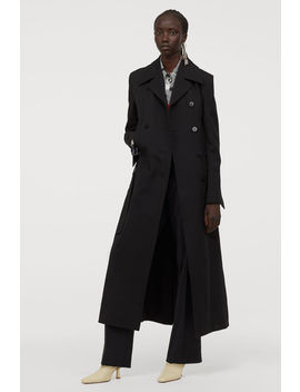 Langer Trenchcoat Aus Wollmix by H&M