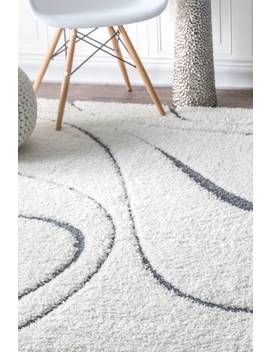 Venice Shaggy Curves Rug by Rugs Usa