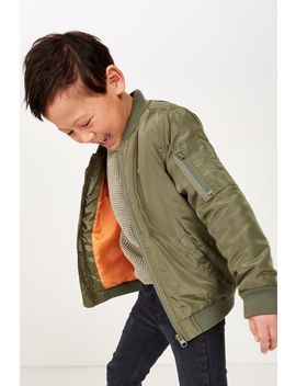 Airforce Bomber by Cotton On