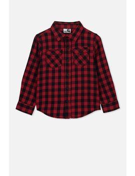 Fairfax Long Sleeve Shirt by Cotton On