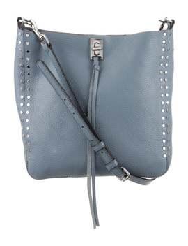 Pebbled Leather Shoulder Crossbody Bag by Rebecca Minkoff