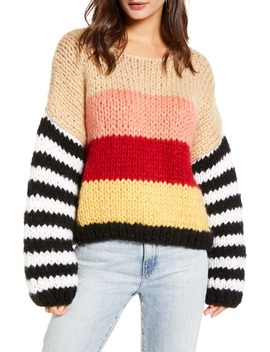 Sweetheart Stripe Sweater by Blanknyc