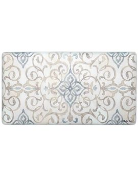 """Cook N Comfort Rustic Medallion Kitchen Mat, 1'8"""" X 3'3"""", Ivory Cook N Comfort Rustic Medallion Kitchen Mat, 1'8"""" X 3'3"""", Ivory by At Home"""