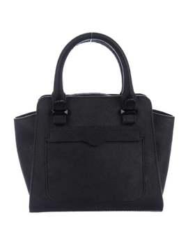 Leather Mini Handle Bag by Rebecca Minkoff