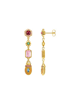 Ear Rings Scarab by Thomas Sabo