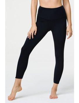 High Basic Midi Legging   Black by Onzie