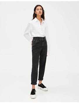 Jeans Slouchy Goma Cintura by Pull & Bear