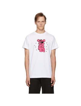 White Gummy Bear T Shirt by Noon Goons