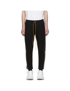 Black 3 M Traxedo Trousers by Rhude