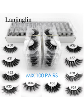 Wholesale 3d Mink False Eyelashes 20/30/40/50/100 Pairs Fluffy Wispy Fake Lashes Natural Long Makeup Lash Extension In Bulk by Ali Express.Com