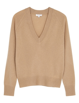Camel Cashmere Jumper by Equipment
