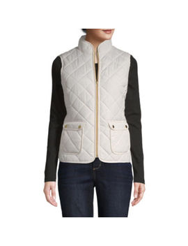 St. John's Bay Quilted Vest by St. John`s Bay