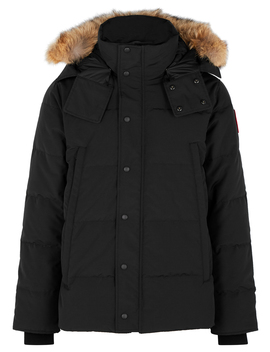 Wyndham Fur Trimmed Arctic Tech Jacket by Canada Goose