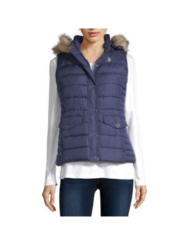 U.S. Polo Assn. Hooded Quilted Vest by Us Polo Assn.