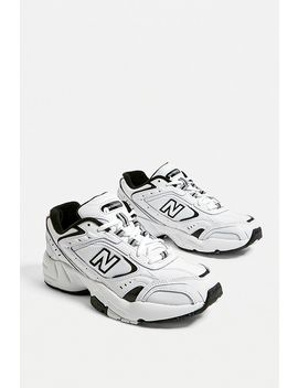 New Balance 452 Black & White Trainers by New Balance