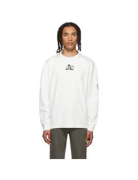White Bohemian Rhapsody Long Sleeve T Shirt by Ader Error