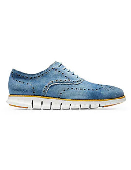 Zero Grand Leather Wingtip Oxfords by Cole Haan