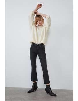 Cropped Jeans Met Mid by Zara