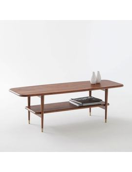 Table Basse Noyer Massif Watford by La Redoute Interieurs