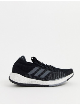 Adidas Training Pulesboost Hd Trainers In Black by Adidas