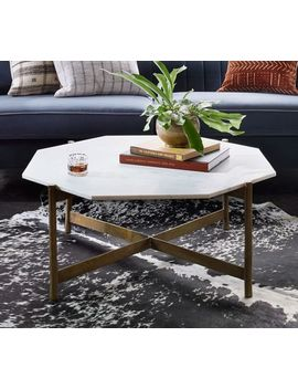 Montague Marble Coffee Table by Pottery Barn
