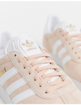 Adidas Originals Gazelle Trainer In Pink by Adidas