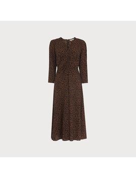 Gabrielle Coral Print Midi Dress by L.K.Bennett