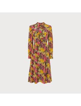Mortimer 1930's Floral Print Silk Tea Dress by L.K.Bennett