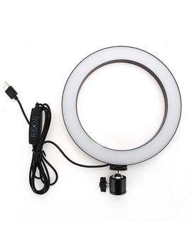 Yingnuost 20 Cm 3500 5500k Video Ring Light Til Tik Tok Youtube Live Streaming by Banggood