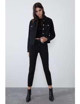 Slim Fit Hi Rise Jeans by Zara