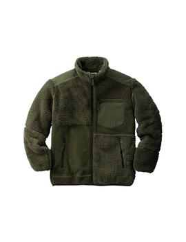 Uniqlo X Engineered Garments Fleece Combination Jacket Olive by Stock X