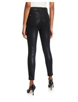 The High Waist Ankle Skinny Jeans by 7 For All Mankind
