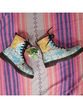 Womens Funky Combat Boots by Poshmark