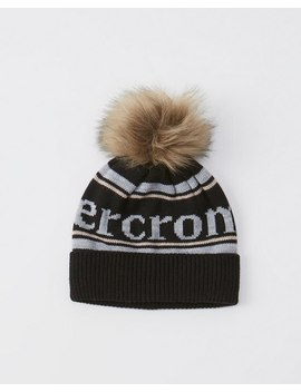 Exploded Logo Beanie by Abercrombie & Fitch