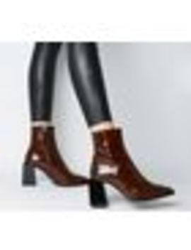Axis Extended Heel Pointed Boots by Office