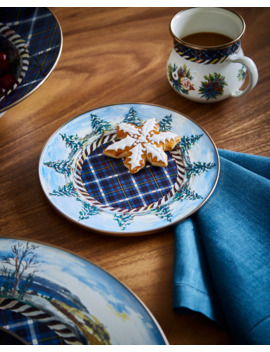 Highbanks Salad/Dessert Plate by Mac Kenzie Childs