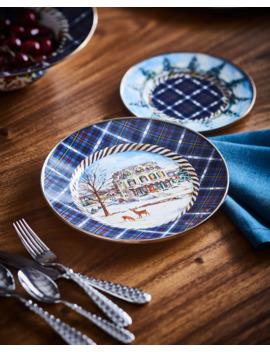 Highbanks Dinner Plate by Mac Kenzie Childs