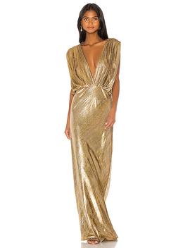 Helen Dress In Gold by Mes Demoiselles