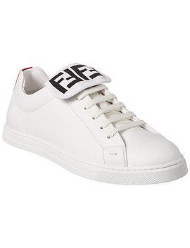 Fendi Leather Low Top Sneaker by Fendi
