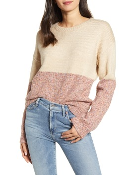 Carmel Colorblock Sweater by Cupcakes And Cashmere